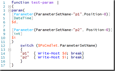 .NET Type and accelerator coloring in PowerShell V3 ISE
