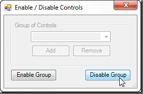 Disabled Groupbox