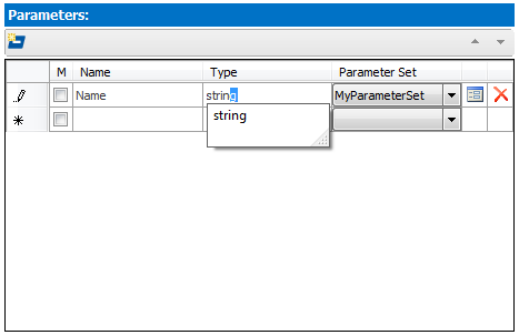 Function Builder Parameters