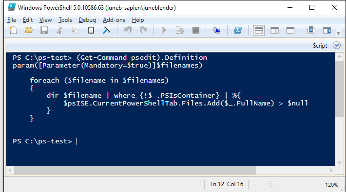 PSEdit: New PowerShell Tab = New Runspace