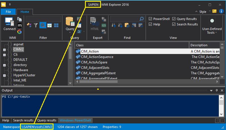Using WMI Explorer: Getting Started